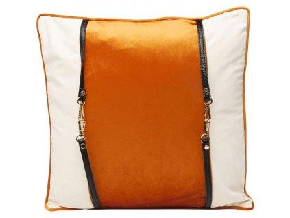Dekorativní polštář Classy Belt 45×45 cm