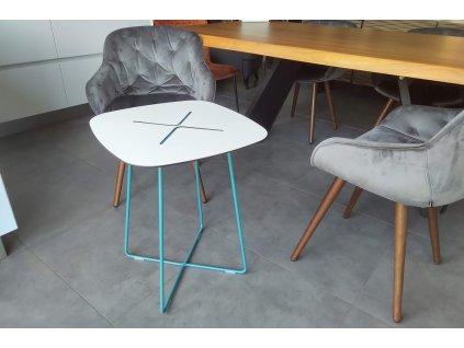 Konferenční stolek Cross, modrý