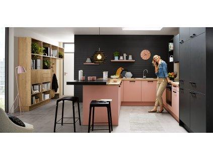 Tmavá kuchyně Biella