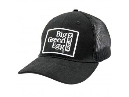 Černá baseballová kšiltovka Big Green Egg