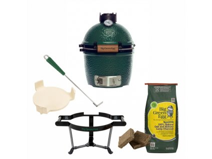 Gril Big Green Egg Mini - balíček Easy Start