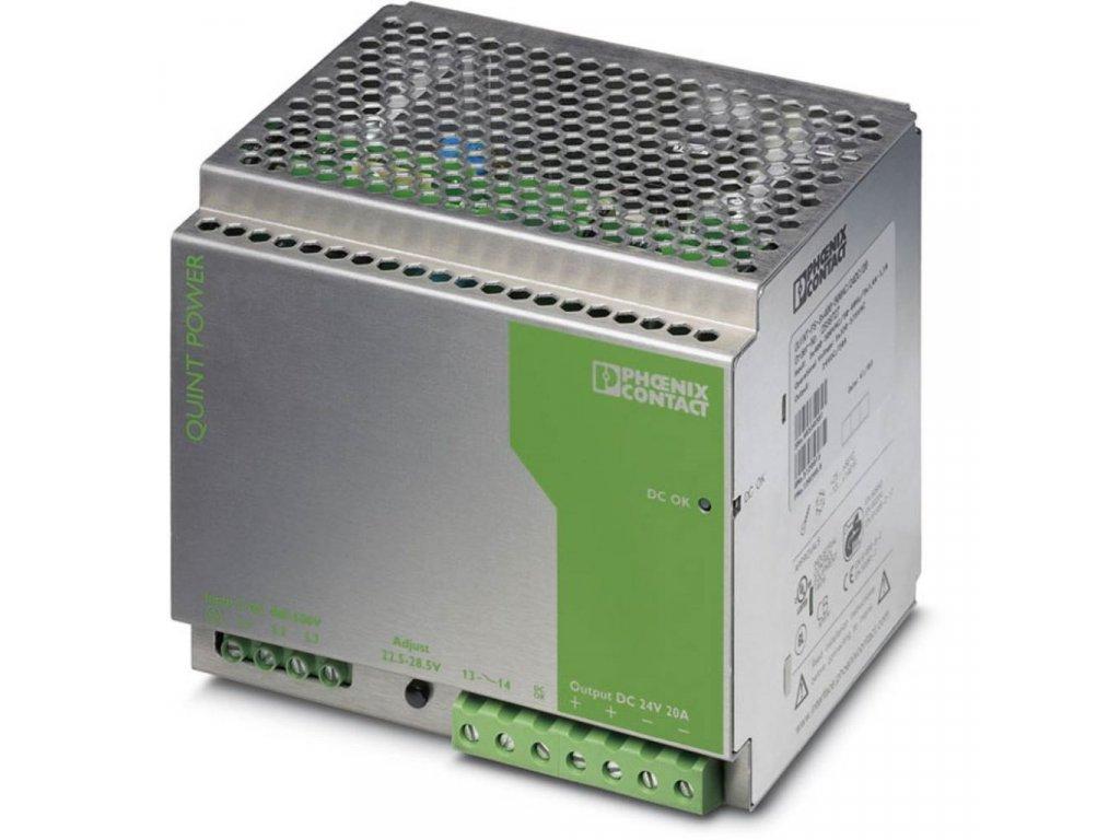 QUINT PS 3X400 500AC 24DC 20