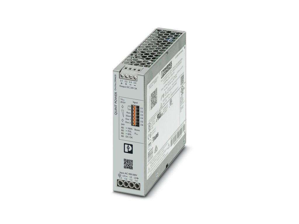 2904620 QUINT4-PS/3AC/24VDC/5 PHOENIX CONTACT - ROZBALENÉ
