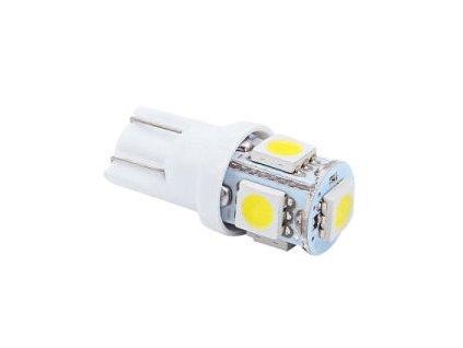 LED 12V White 5SMD 5050 T10