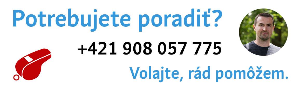 Potrebujte poradiť, volajte, rád pomôžem