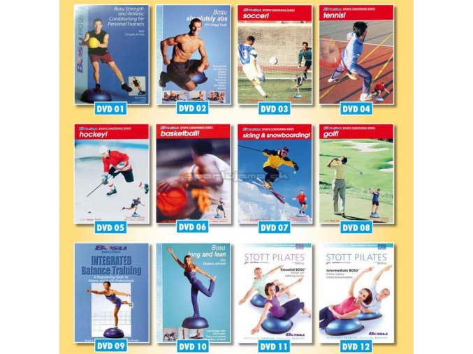 BOSU DVD 08 Golf