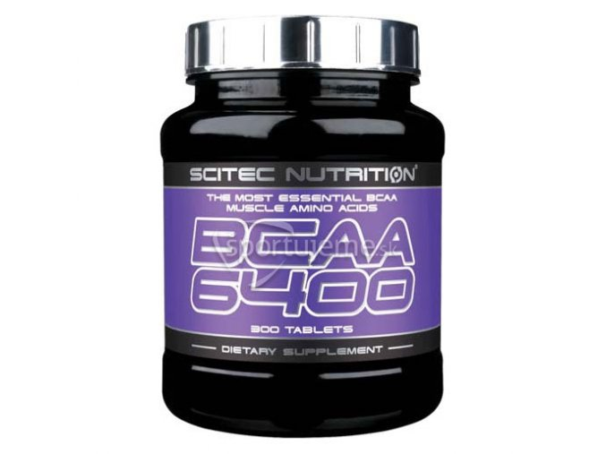 Scitec Nutrition BCAA 6400 125tbl