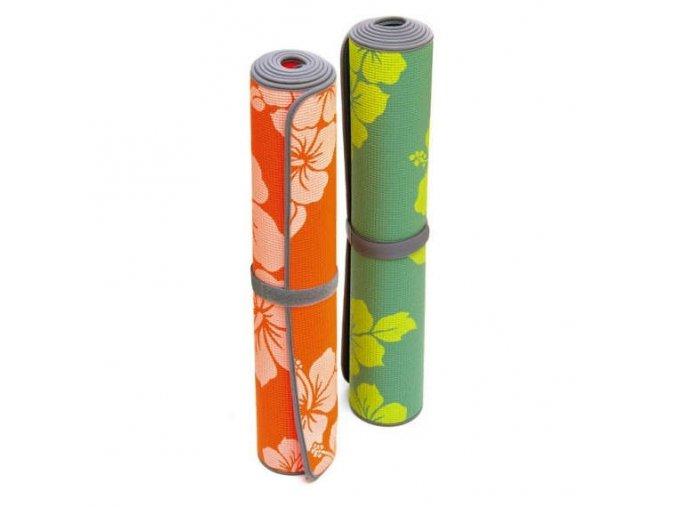 Sissel Yoga mat Flower - podložka na jógu