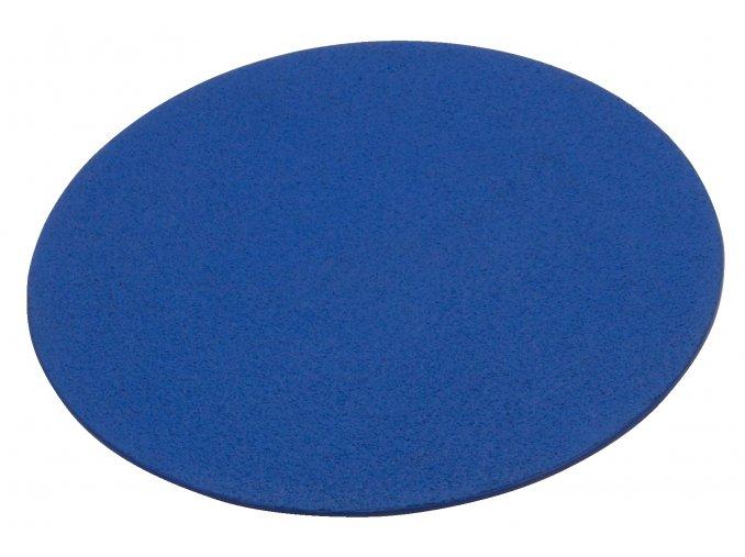 kruhove podlahove znacky modre