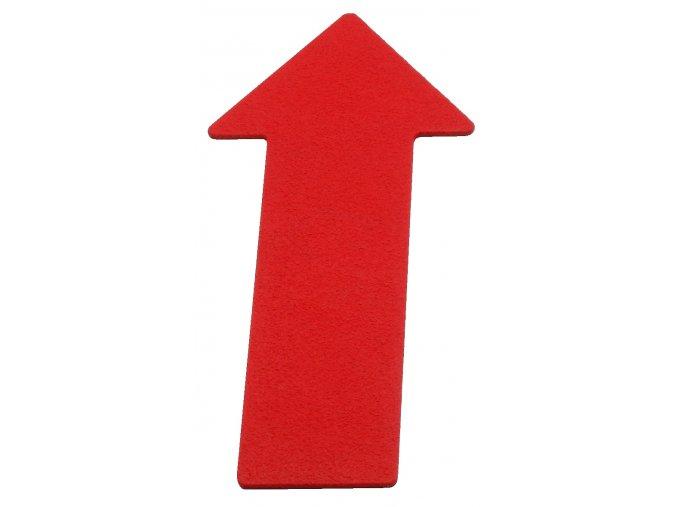 podlahove znacky sipka cervena