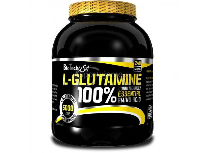 BioTech 100% L-Glutamine 240g