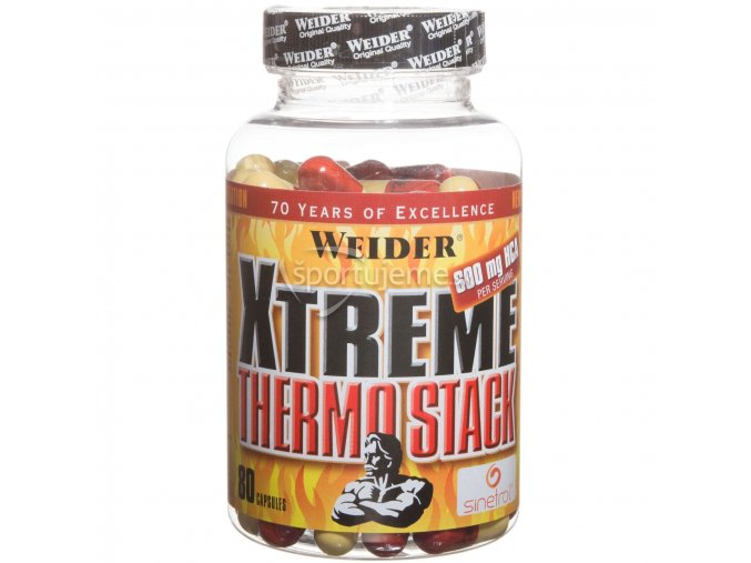 Weider Xtreme Thermo Stack 80kaps