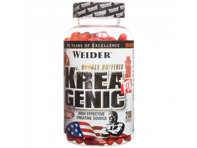 Weider Krea-Genic + PTK 208kaps