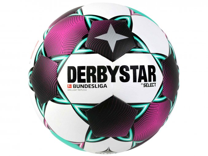 Derbystar futbalova lopta Bundesliga Brillant Replica 1