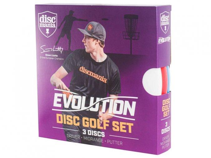Discgolfova sada Discmania Evolution (putter,midrange,driver) 1