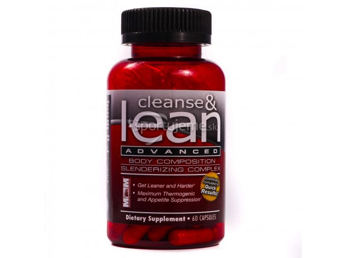 Max Muscle Cleanse & Lean 100kaps