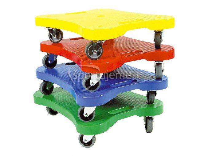 Sport-Thieme Sada 4 vozíkov na cvičenie Scooter