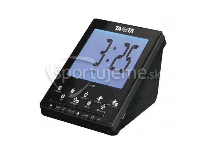 Tanita bezdrôtový displej D-1000 k telesnému analyzátoru s prenosom dát Tanita BC-1000