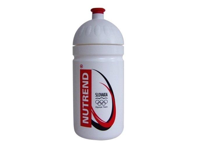 Nutrend fľaša BIDON biela 500ml