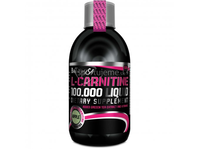 BioTech USA L-Carnitine liquid 100 000 500ml