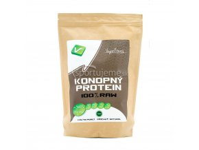 Vegan Fitness 100% RAW Konopný Protein 1000g