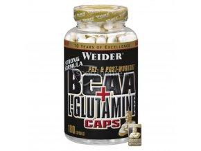 Weider BCAA + L-glutamine 180kaps