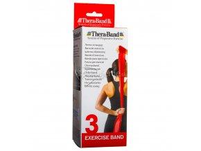 Thera-Band Červená (stupeň 3) 2,5 m