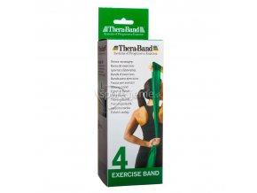 Thera-Band Zelená (stupeň 4) 2,5 m