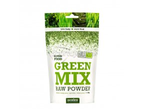 Purasana Green Mix Powder BIO RAW 200g