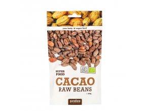 Purasana Cacao Beans BIO RAW 200g (kakaové bôby)