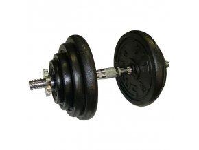 Fit Plus jednoručná činka nakladacia 20 kg