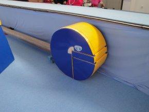 gymnasticky treningovy valec s vyrezom priemer 70cm sirka 40cm 1