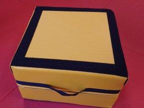 Rino kocka–zlta farba 2