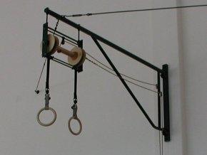 Otocna konstrukcia pre gymnasticke kruhy 1