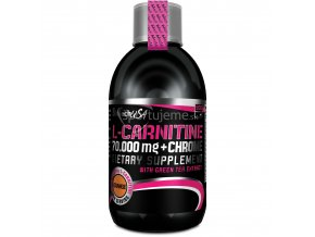 BioTech Nutrition L-Carnitine 70 000 + Chrome Liquid 500ml