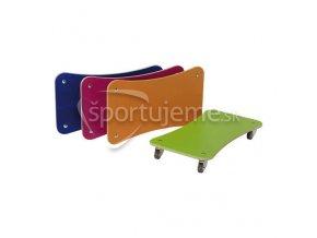 Pedalo Sada 4 tréningových vozíkov na cvičenie Color Line
