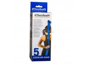 Thera-Band Modrá (stupeň 5) 2,5 m