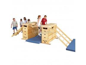 Sport-Thieme Gymnastický systém Vario 5D s koliečkami