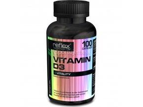 Reflex Nutrition Vitamín D3 100kaps