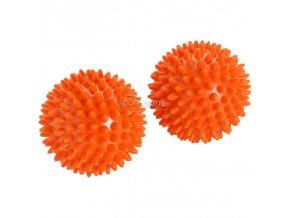 Ledraplastic Akupresúrna loptička Beauty Reflexball 8cm oranžová