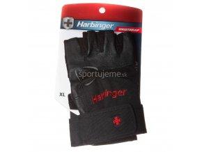 Harbinger Posilovacie Rukavice WristWrap 140 čierne XS