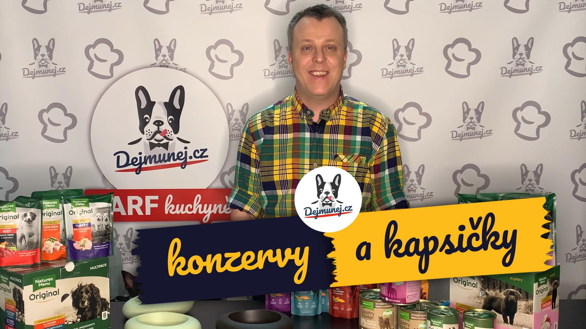 [VIDEO] Konzervy a kapsičky pro všechny psí tlamičky - Petr Košina představuje produkty Natures Menu