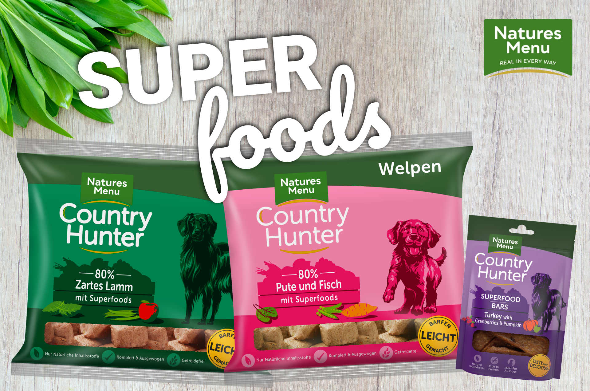 Tzv. superpotraviny v BARF krmivech pro psy: které to jsou a co umí?