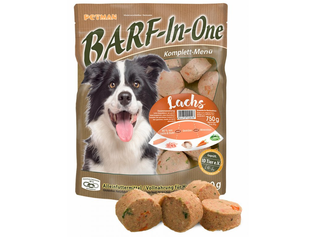 BARF in One lachs maso pro psy losos kompletni krmivo
