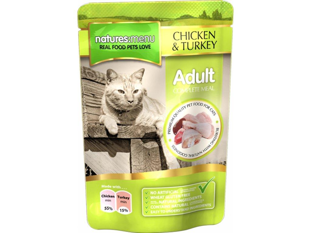 CKT100 kapsičky pro kočky kuřecí a krůtí