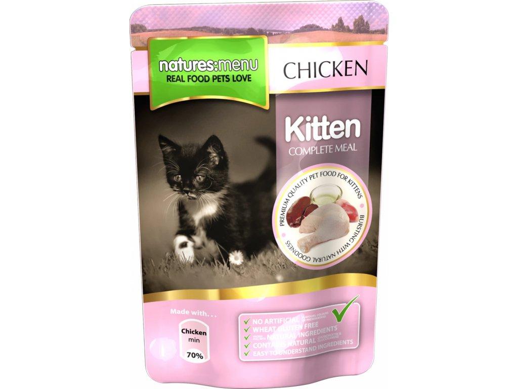 KIT100 kapsičky pro koťata 12x100 g