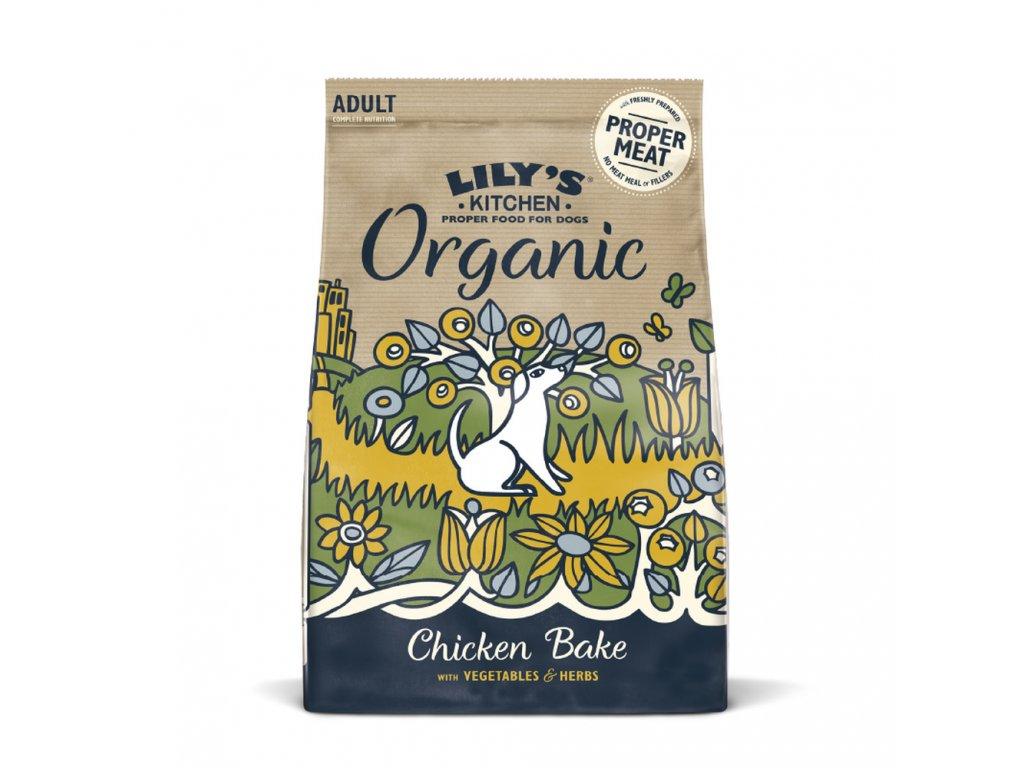 Lilys Kitchen Dog Organic Chicken Bake