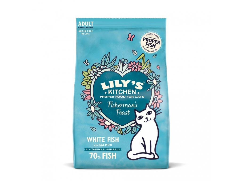 Lily's Kitchen Cat Fisherman's Feast White Fish & Salmon