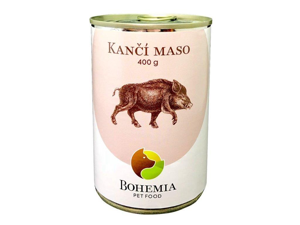 bohemia kanci maso ve vlastni stave 400 g konzerva pro psy