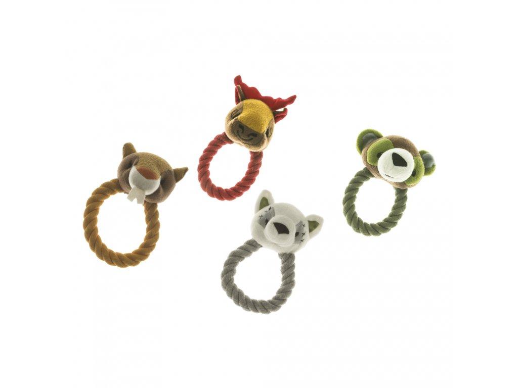 imac zviratka pretahovadlo hracka pro psy